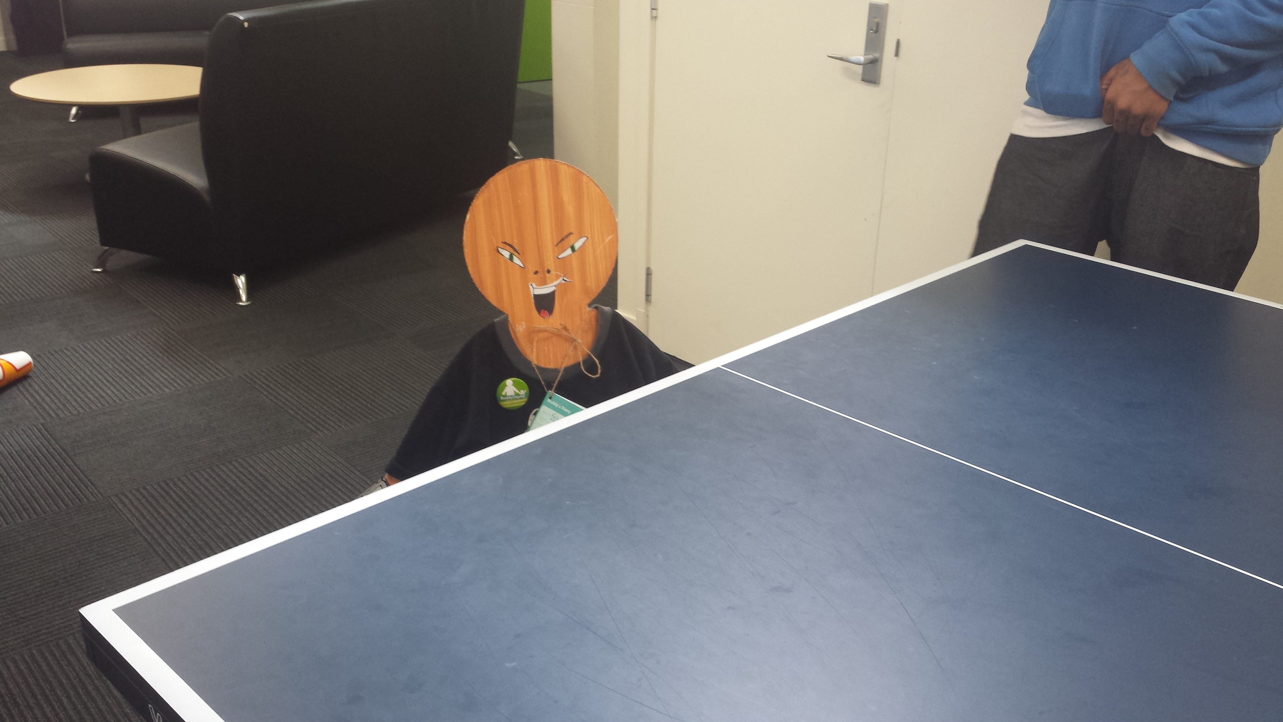 Felix's main interest was Table tennis so good thing we visited Genesis!