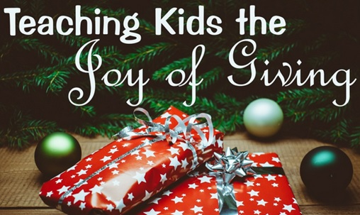 Christmas Giving.Teaching Kids The Joy Of Giving Exess Connectivity